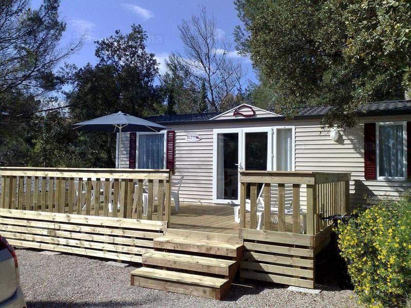 Maison mobile camping Wigwam